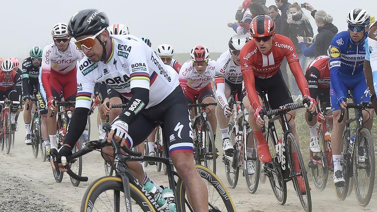 The Paris-Roubaix course is infamously unforgiving