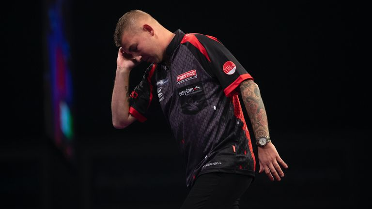 Aspinall slipped outside the world's top ten following an early exit at last month's UK Open