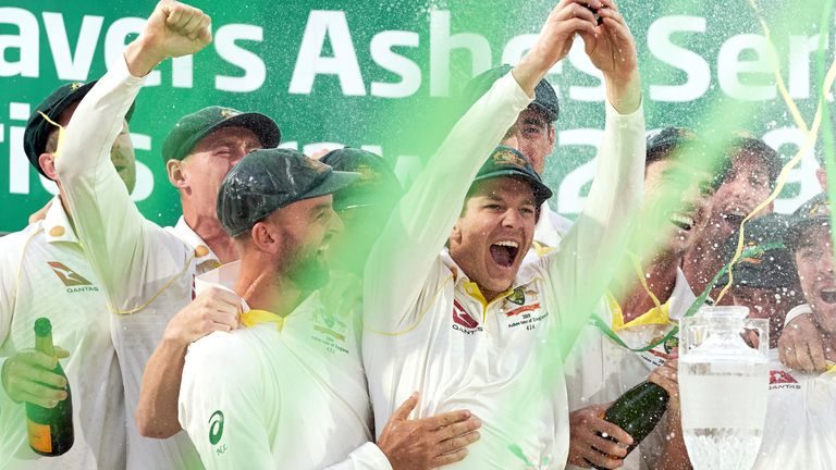 Australia retained the Ashes in 2019 by drawing the series with England