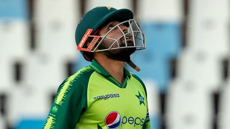 Pakistan captain Babar Azam had hit a sparkling century in the third game of the series