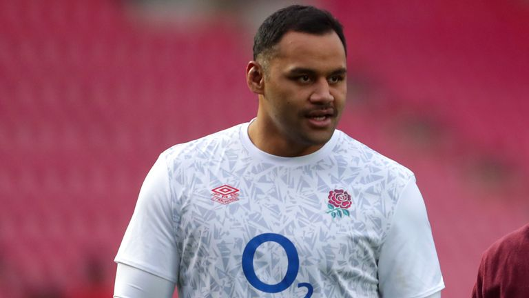 Billy Vunipola has not been named in Eddie Jones' latest England training squad