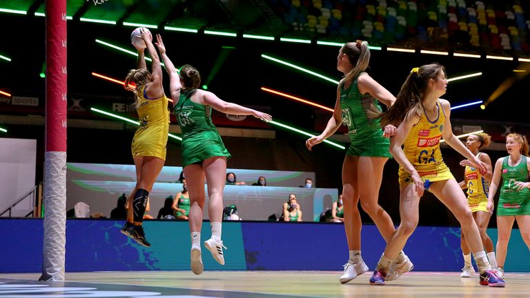 Celtic Dragons put up an impressive showing against league leaders Team Bath - they'll hope to turn it to victory this weekend (Image Ben Lumley)
