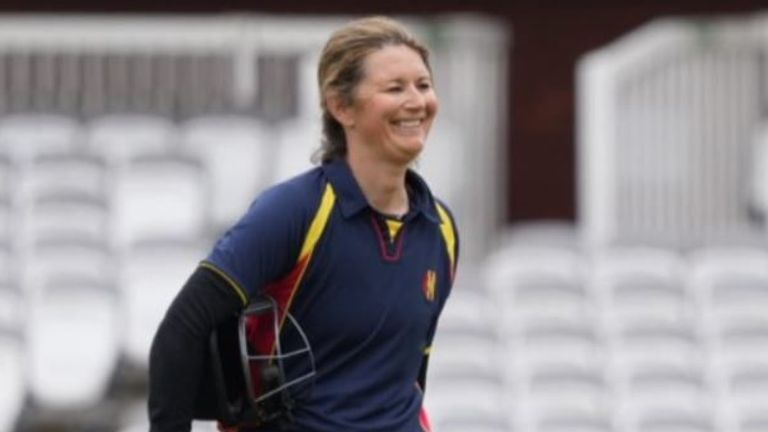 Charlotte Edwards was back in the runs as she scored 76 during the opening MCC match (Picture Credit: Marylebone Cricket Club, @MCCOfficial)