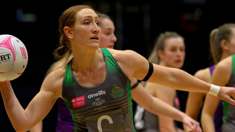 Clare Jones and the Celtic Dragons are looking for a first win of the season (Image: Ben Lumley)