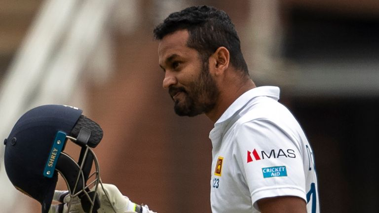 Test captain Dimuth Karunaratne is one of the players in dispute with Sri Lanka Cricket