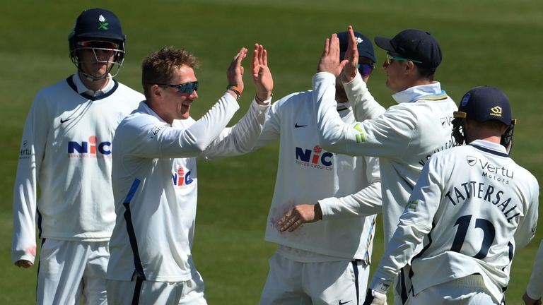 Dom Bess' five-wicket haul has put Yorkshire in a strong position to beat Sussex