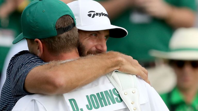 Dustin Johnson registered a five-shot victory at The Masters in 2020
