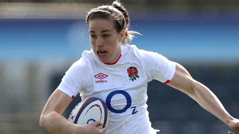 Emily Scarratt captains England Women; Poppy Cleall, Helena Rowland start in