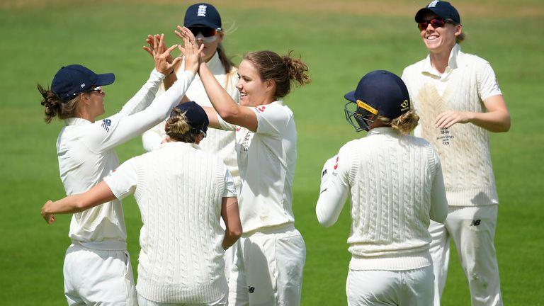 England Women drew their previous Test match, against Australia during the 2019 Ashes