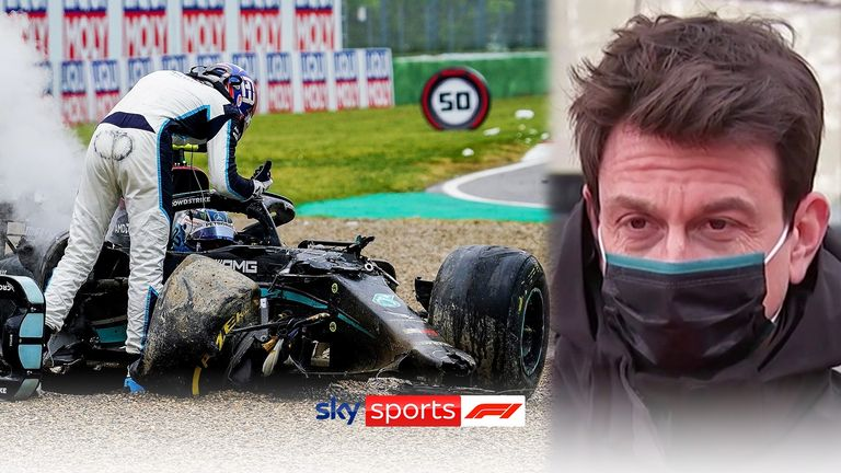 Mercedes boss Toto Wolff felt that both George Russell and Valtteri Bottas must take some responsibility for their huge collision.