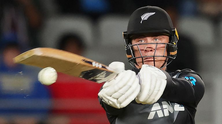 Finn Allen smashed 71 off 29 balls in New Zealand's third T20I win over Bangladesh in Auckland on Thursday