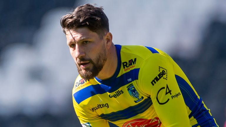 Gareth Widdop played a crucial role in Warrington's win over Catalans