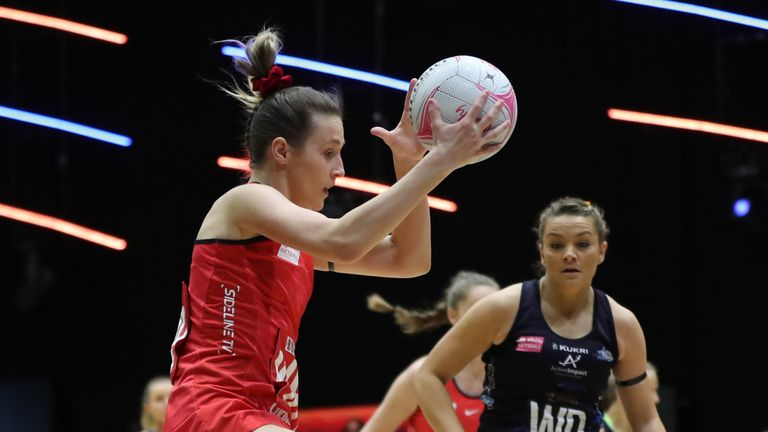 Saracens Mavericks currently sit fifth in the Vitality Netball Superleague table (Image Credit - Morgan Harlow)