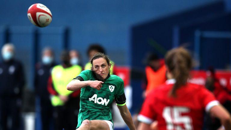 Ireland's Hannah Tyrrell in action