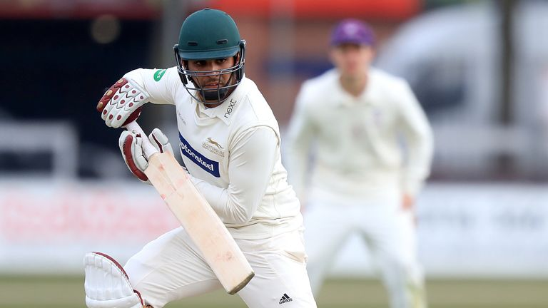 Hassan Azad hit an undefeated 144 in Leicestershire's draw against Surrey