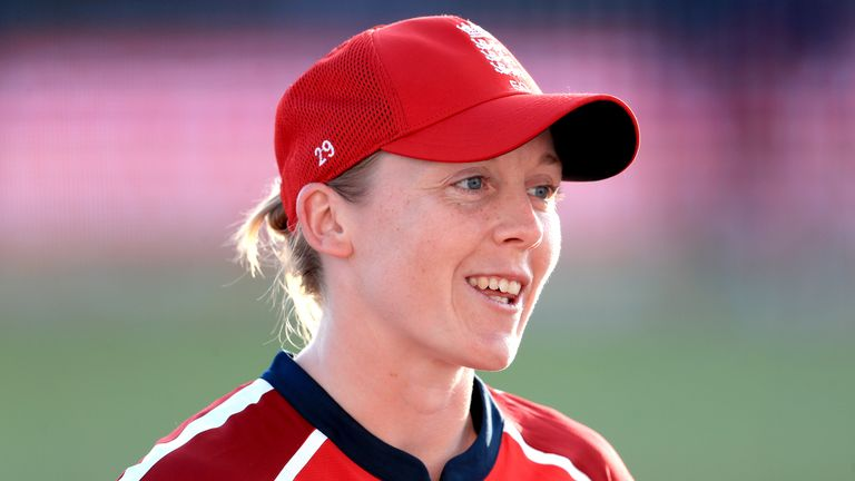 Knight is arguably preparing for his busiest year as England women's captain