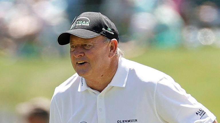 The Masters: Ian Woosnam back at Augusta for 32nd time, just 15 months after