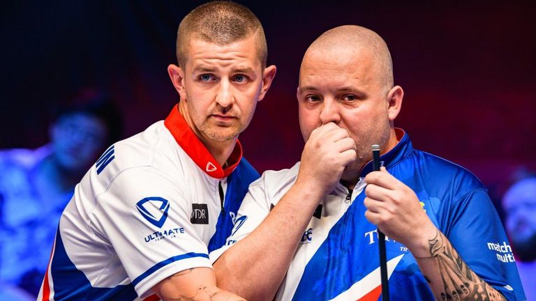 Jayson Shaw and Chris Melling will team-up for Great Britain A