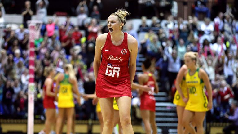 Jo Harten is one of England's experienced players who was a key part of Netball World Cup 2019