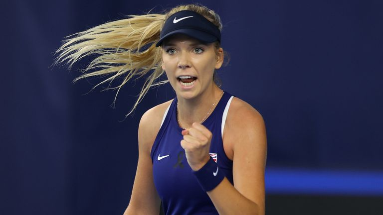 Katie Boulter was given the nod over Harriet Dart, Jodie Burrage and Katie Swan to make her first appearance in the competition - formerly known as Fed Cup - since aggravating a back injury in the 2019 victory over Kazakhstan