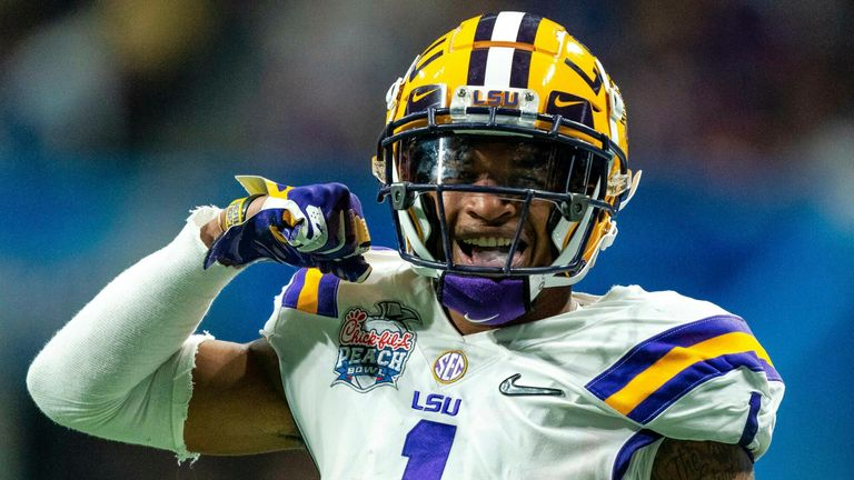 LSU'S Ja'Marr Chase is widely-expected to be the first wide receiver off the board on Thursday night