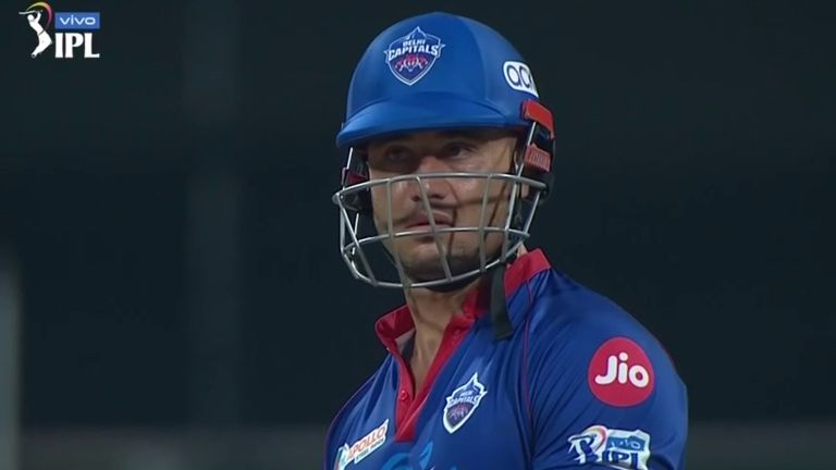 Marcus Stoinis finished the game off for Delhi Capitals