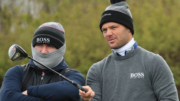 Martin Kaymer is one off the lead after day one in Austria