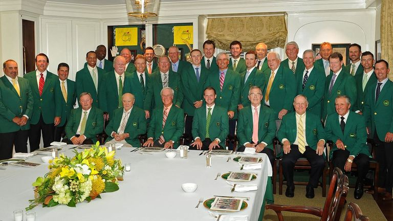 The Masters Club Dinner has been an annual tradition since 1952