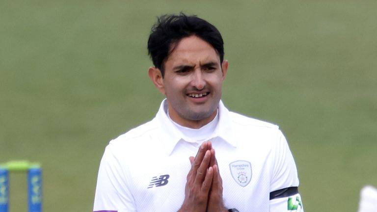 Mohammad Abbas claimed stunning figures of 6-11 for Hampshire as Middlesex were bowled out for 79