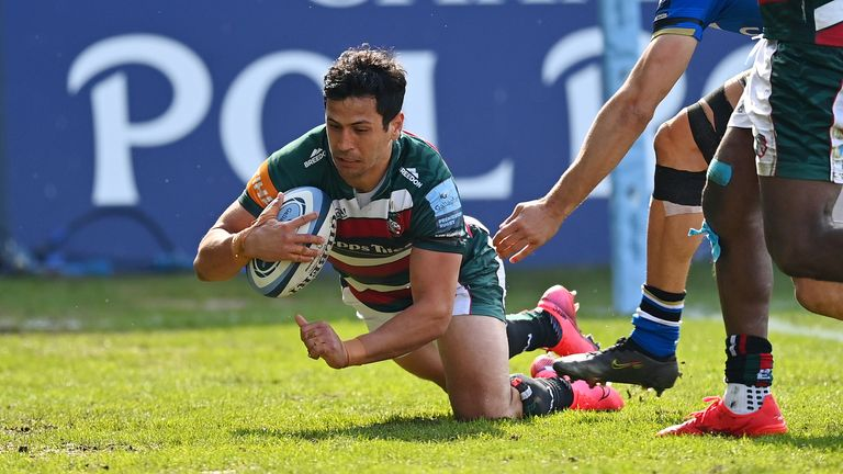 Matias Moroni scored early in the second half for Leicester, as the Tigers looked to take control