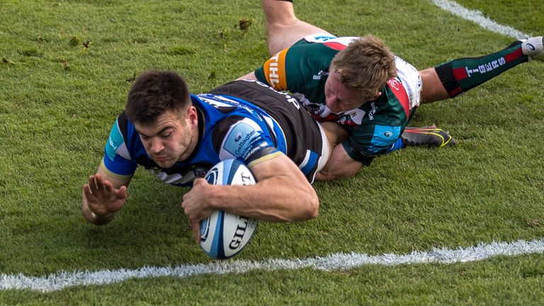 Will Muir's try in the closing stages, and Ben Spencer's conversion, saw Bath claim victory from the jaws of defeat vs Leicester