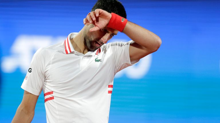 Djokovic praised the performance of Karatsev in an unforgettable night for the Russian