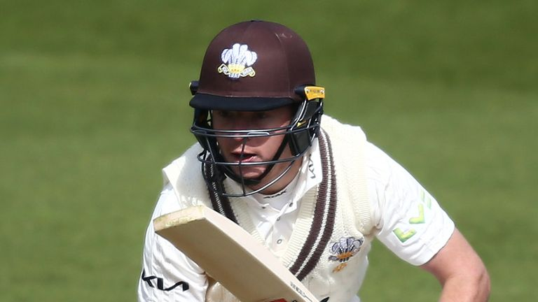 England's Ollie Pope returned to form for Surrey with the bat and will be eyeing up a hundred on day three