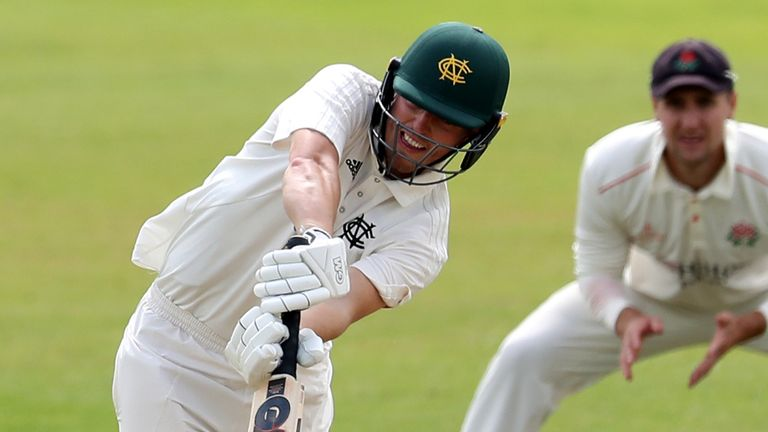 Ben Slater topped the averages for Notts in the last summer's Bob Willis Trophy