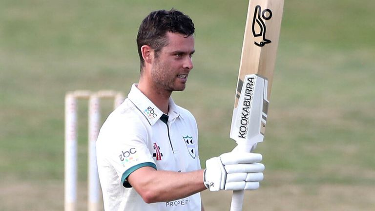 Jake Libby had a brilliant 2020 for Worcestershire as he topped the batting averages