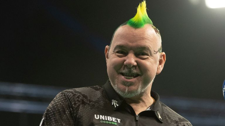 Peter Wright beat Gary Anderson in a clash of former world champions (Image: PDC/Lawrence Lustig)