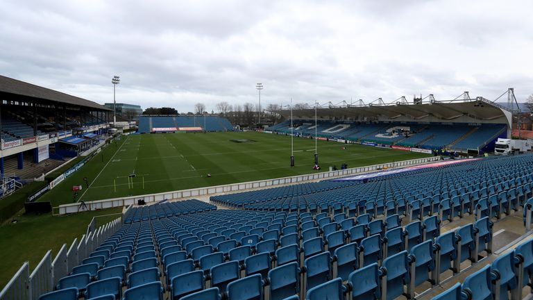 The RDS Arena in Dublin was due to host the European last-16 tie on Friday evening