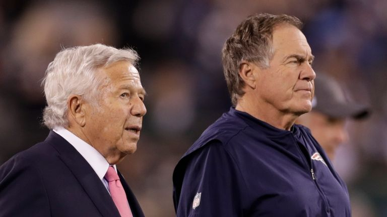 Is there pressure on New England Patriots owner Robert Kraft and coach Bill Belichick to get it right in the 2021 Draft?
