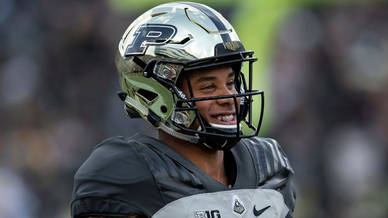 Which team will land Rondale Moore's talents at the 2021 NFL Draft? (Photo by Zach Bolinger/Icon Sportswire via AP)