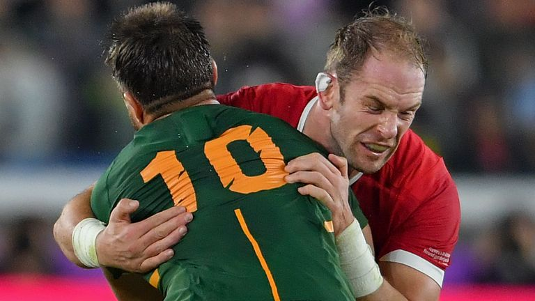 Wales last faced South Africa in the semi-finals of the 2019 Rugby World Cup, which the Springboks won 19-16