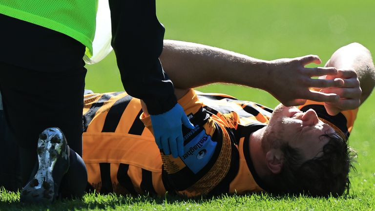 Joe Launchbury suffered a season-ending injury against Bath