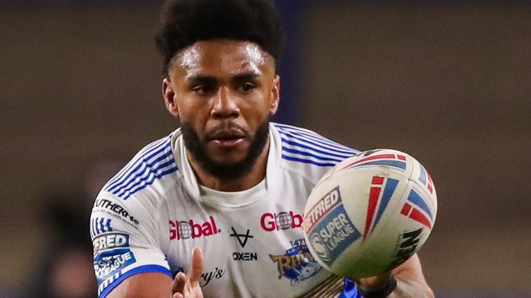 Kyle Eastmond felt relieved after making his rugby league return
