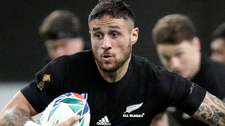 TJ Perenara has won 69 caps for New Zealand, scoring 13 tries