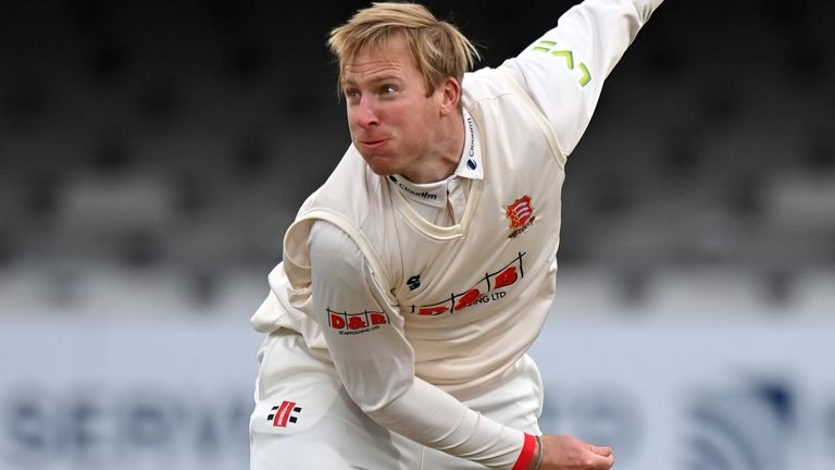 Simon Harmer took 5-57 from his 24 overs in Durham's second innings
