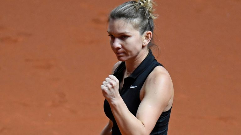 Simona Halep has called on others within tennis to get the coronavirus vaccine