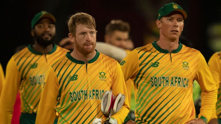 South Africa leave the field last week after losing their T20 series against Pakistan 3-1