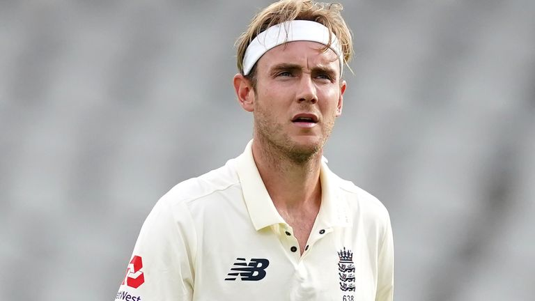 """Stuart Broad says former England selector Ed Smith probably didn't rate me as much as other players """"