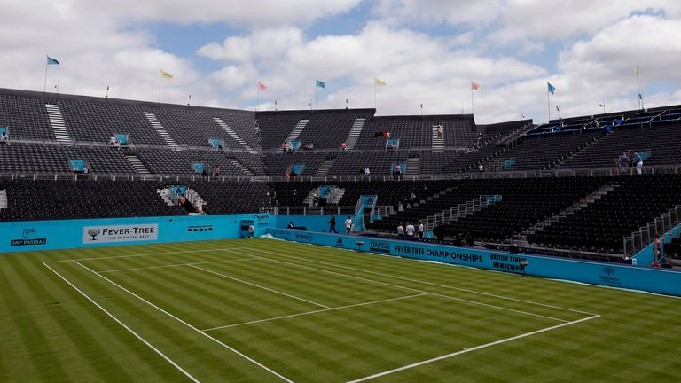 Queens Club is one of four venues where free tickets will be offered to key workers