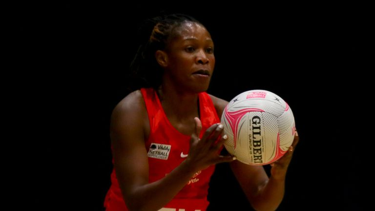 Towera Vimkhumbo picked up another player of the match award as Sirens beat Storm (Image Credit - Ben Lumley)