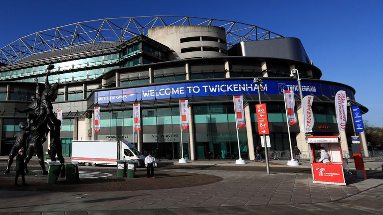 Twickenham will host this year's two European finals